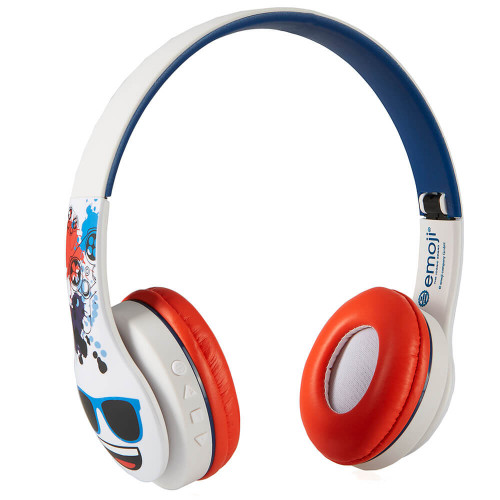EMOJI Hörlur Game On-Ear Trådlös Blå 105dB
