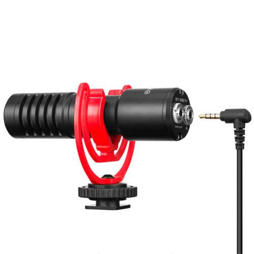 BOYA Mikrofon Kompakt Universal BY-MM1+ 3.5mm