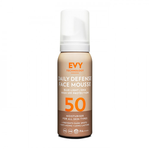 EVY Technology EVY Daily Defence Face Mousse SPF 50 75 ml