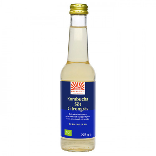 Kung Markatta Kombucha Citrongräs 275 ml EKO