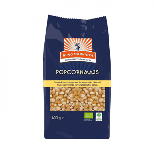 Kung Markatta Popcorn 400g EKO