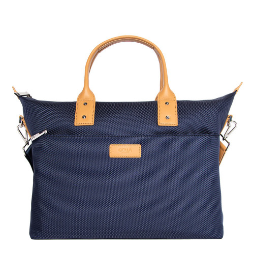 "GOLLA Tote Bag Zeta 14"" Navy Nylon"