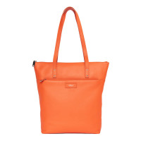 "GOLLA Tote Bag Capella 13-15"" Orange Läder"