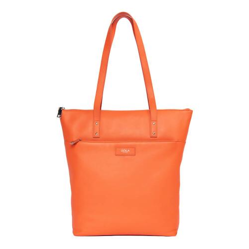 """GOLLA Tote Bag Capella 13-15"""" Orange Läder"""