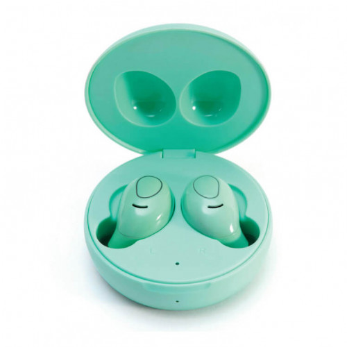 LEDWOOD Hörlur i9 TWS True Wireless In-Ear  Mint Mic