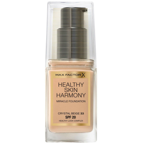 Max Factor Healthy Skin Harmony Miracle Foundation 33 Crystal Beige