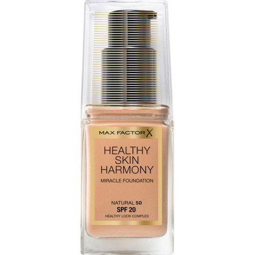 Max Factor Healthy Skin Harmony Miracle Foundation 50 Natural