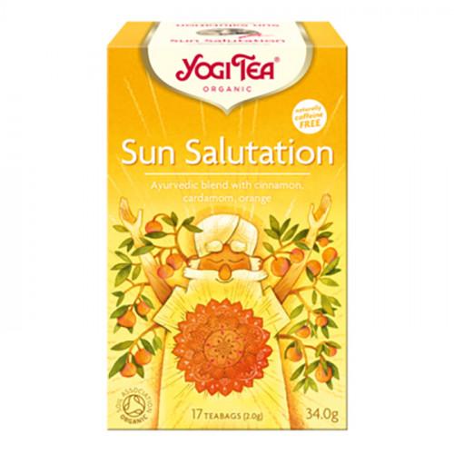 Yogi Tea Sun Salutation Te 17p KRAV EKO
