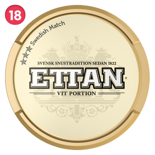 Ettan White Portion 10-pack