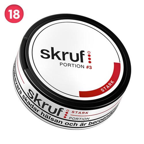 Skruf Stark Portionssnus 10-pack