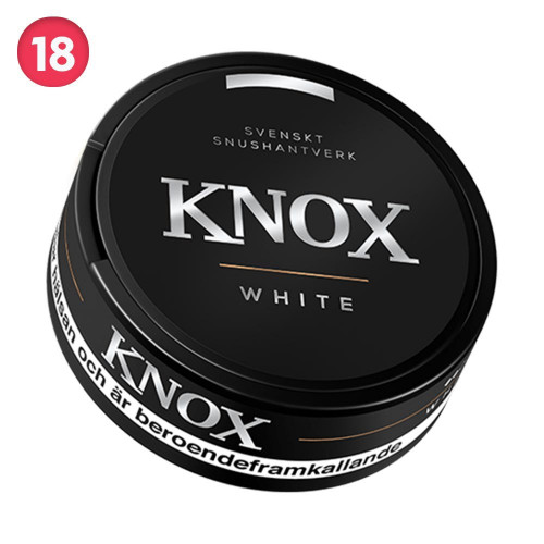 Knox White Portionssnus 10-pack