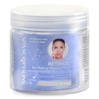 SpaScriptions Retinol Eye Makeup Remover Pads