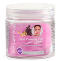 SpaScriptions Facial Cleansing pads with toner