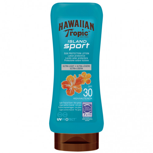 Hawaiian Tropic Island Sport Lotion SPF30 180 ml