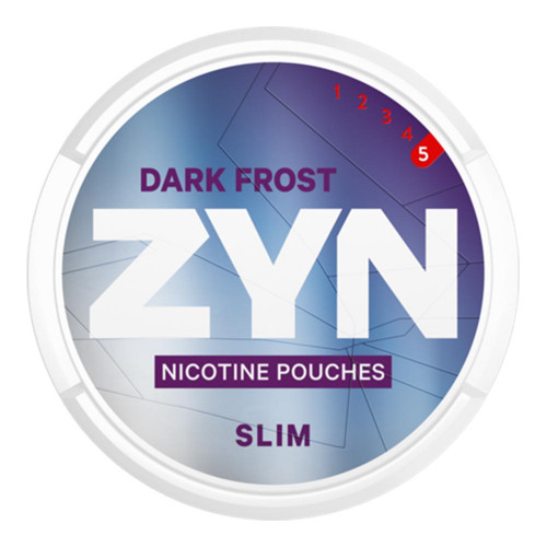 ZYN Dark Frost Slim Super Strong 5-pack