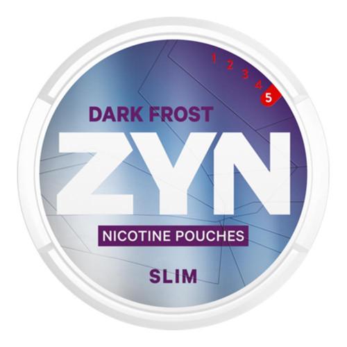 ZYN Dark Frost Slim Super Strong 5-pack