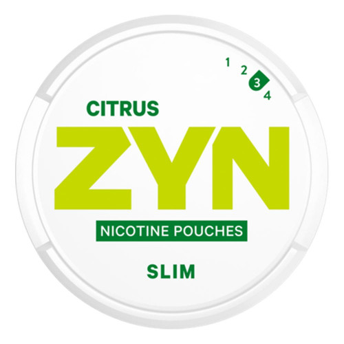 ZYN Citrus Slim Strong 5-pack
