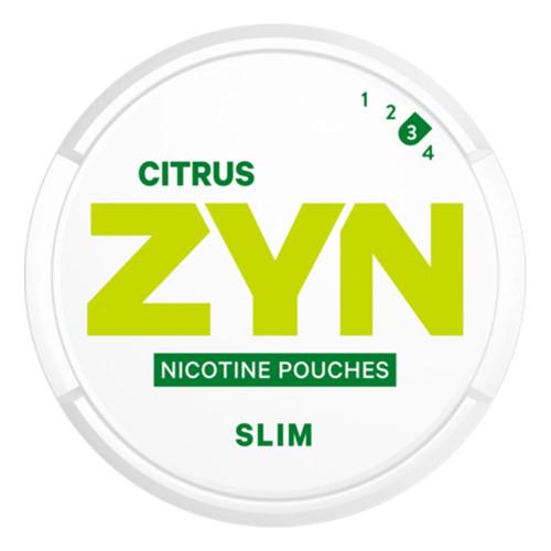 ZYN Citrus Slim Strong 5-pack
