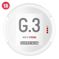 General Super Slim White Portion Strong 5-pack