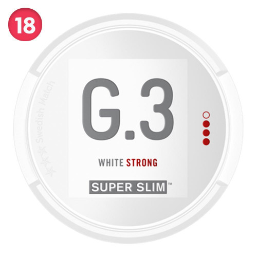 General Super Slim White Portion Strong 5-pack