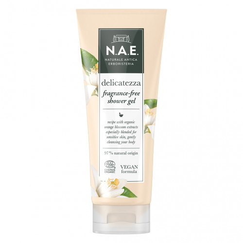 N.A.E Shower Gel fragrance free 200 ml