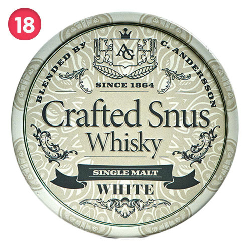 Crafted Snus Whisky White 10-pack