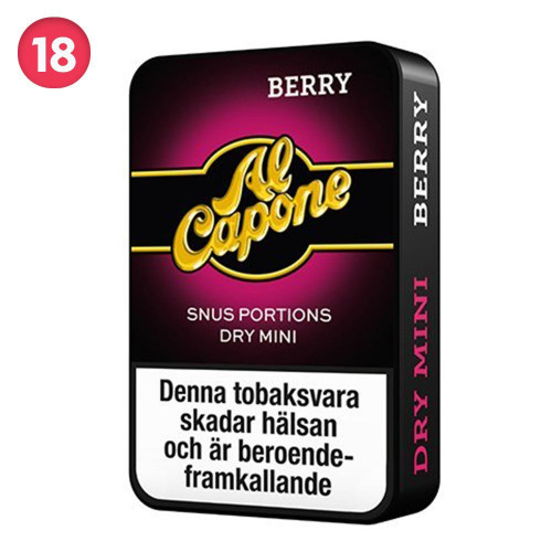 Al Capone Berry Dry Minisnus 10-pack