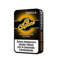 Al Capone Vanilla Dry Minisnus 10-pack