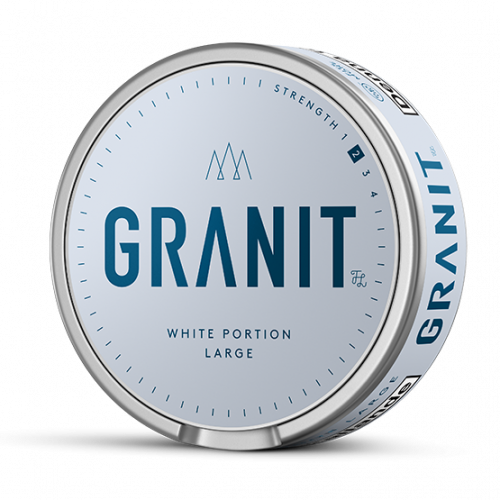 Granit Original White Portion Large 10-pack