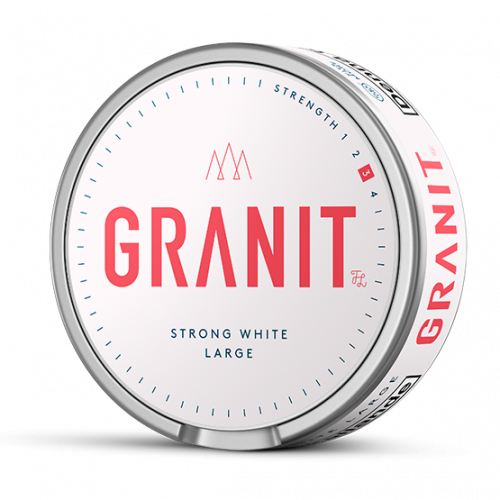 Granit Strong White Portion Large 10-pack