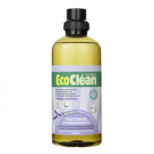 EcoClean Tvättmedel Lavendel 1000 ml EKO