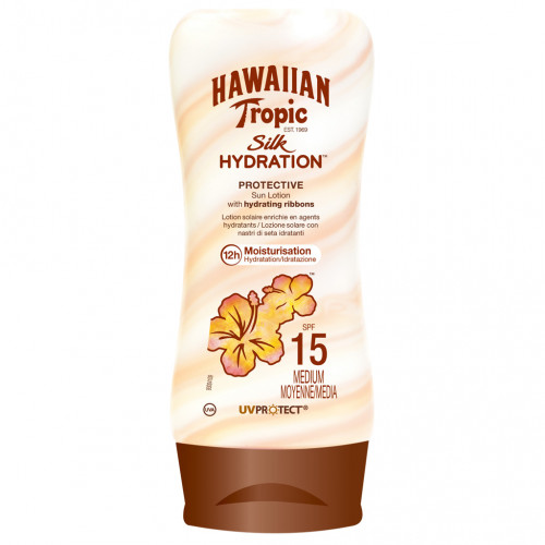 Hawaiin Tropic Silk Hydration Lotion Spf15 180 ml