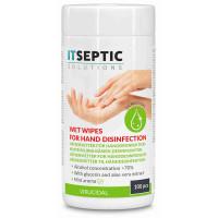 ITSEPTIC Handdesinfektion Våtservetter Mellan >70% Alkohol 13,5x15cm 100 st.