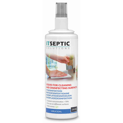 ITSEPTIC Ytdesinfektion Flytande >70% Alkohol 250ml