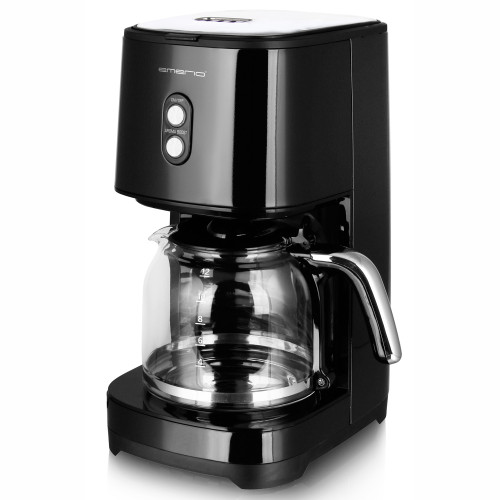 Emerio Kaffebryggare Retro Black 1,5l