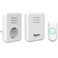 Byron Trådlös dörrklocka Plug-in och