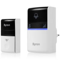 Byron Trådlös dörrklocka utan batter