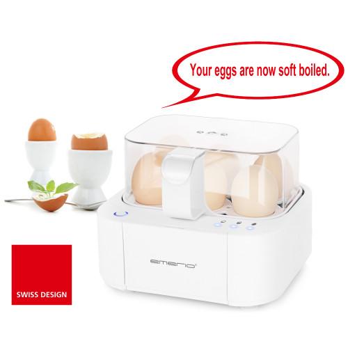 """Emerio Äggkokare """"Talande äggkokaren"""""""