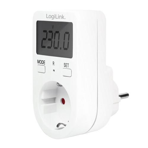 LogiLink Energimätare med kostnadsberäk