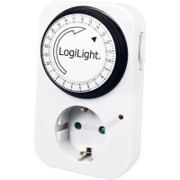 LogiLink Inomhustimer 24h mekanisk 16A