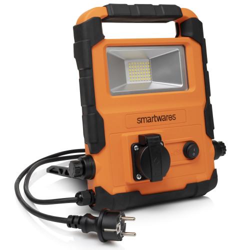 Smartwares LED-arbetslampa 20W med inbygg