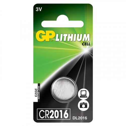 GP CR2016 3V 1-pack