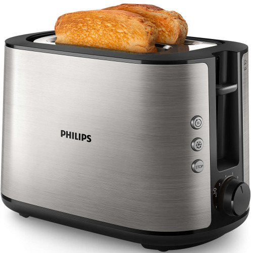 Philips Brödrost HD2650 Rostfri 2skiv