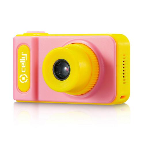 Celly Digitalkamera för barn Rosa