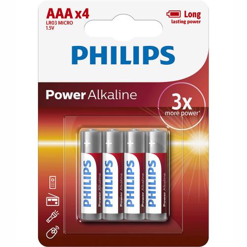 Philips Power Alkaline AAA 4-pack