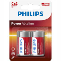 Philips Power Alkaline C LR14  2-pack