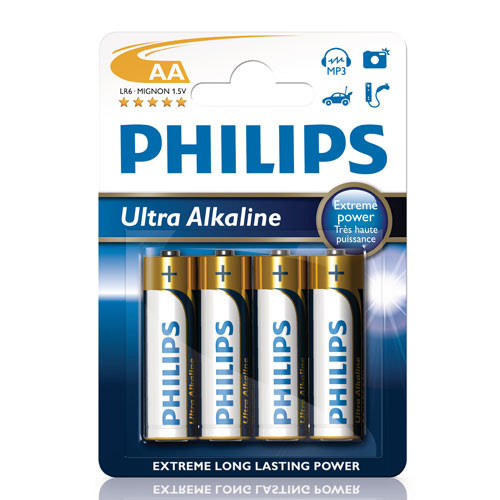 Philips Ultra Alkaline AA  4-pack