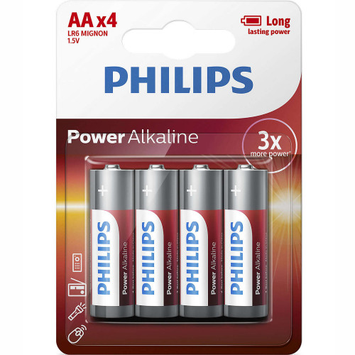 Philips Power Alkaline AA LR06 4-pack