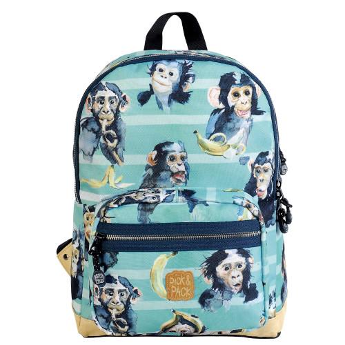Pick & Pack Backpack chimpanzee turqoise
