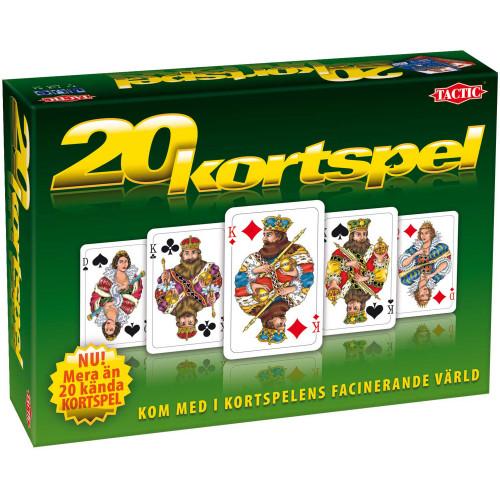 Tactic Spel 20 Kortspel